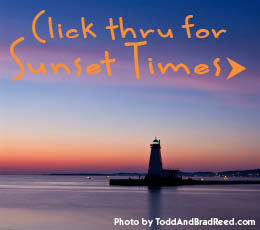 Northern Michigan Sunset Times