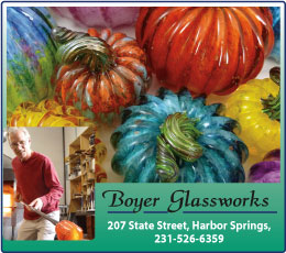 Boyer Glassworks Harbor Springs Michigan